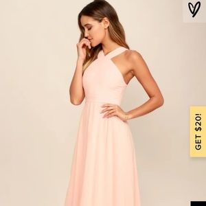 Air of Romance Maxi Dress from Lulus